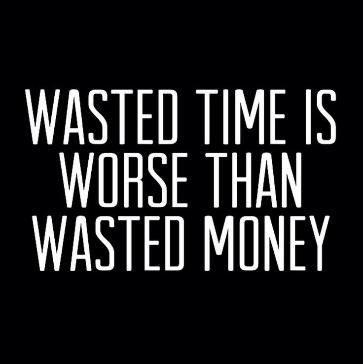 wasting time Wasting time is it possible that wasting time can actually be a good use of time a few weeks back, i was talking with my friend nick baum (founder of storyworth.